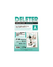 Deleter Comic Book Paper: Type A B4/135kg with Scale