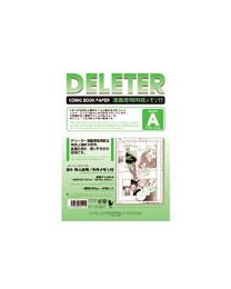 Deleter Comic Book Paper: Type A B4/110kg with Scale