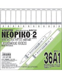 Neopiko 2: 36 Colors Basic Set A1