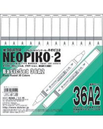 Neopiko 2: 36 Colors Basic Set A2