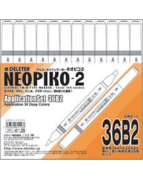 Neopiko 2: 36 Colors Application Set B2