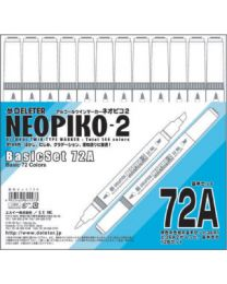 Neopiko 2: 72 Colors Basic Set A