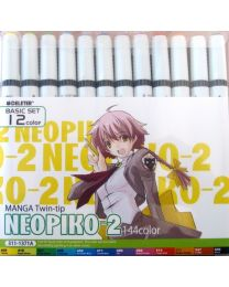 Neopiko 2: 12 Colors Basic Set