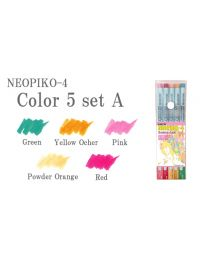 Neopiko 4: 5 Colors Set A