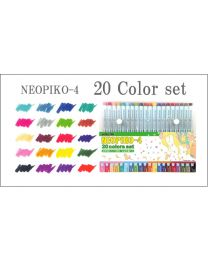 Neopiko 4: 20 Colors Set