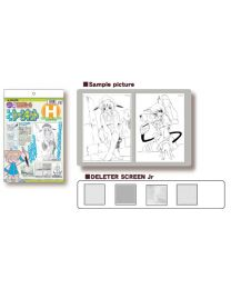 Deleter Manga Screen Tone Kit H