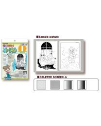 Deleter Manga Screen Tone Kit I