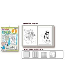 Deleter Manga Screen Tone Kit J