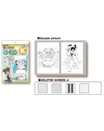 Deleter Manga Screen Tone Kit K