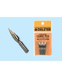 Deleter Pen Nibs: Saji-Pen 3 Pack