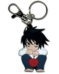 Death Note: L SD PVC Keychain