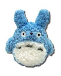 Totoro: Blue 5.5 Inch Fluffy Plush