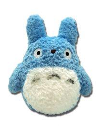 Totoro: Blue 8 Inch Fluffy Plush