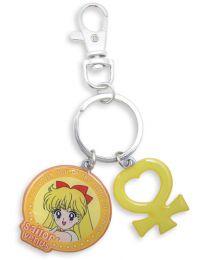 Sailor Moon: Sailor Venus & Symbol Metal Keychain