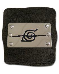 Naruto: Anti-Leaf Village Metal Sign Wristband
