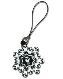 Soul Eater: Shinigami Snowflake Cell Phone Charm