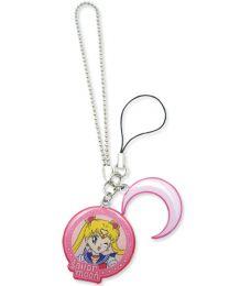 Sailor Moon: Sailor Moon & Symbol Metal Cell Phone Charm