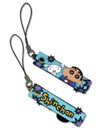 Shin Chan: Shin & Whitney Cell Phone Charm