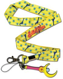 Sailor Moon: Moon Stick Lanyard