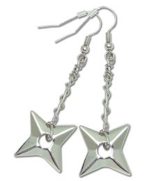 Naruto Shippuden: Shuriken Earrings