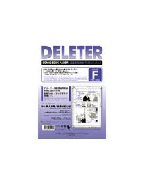 Deleter Comic Book Paper: Type F A4/135kg