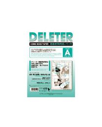 Deleter Comic Book Paper: Type A A4/135kg with Scale