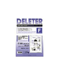 Deleter Comic Book Paper: Type F B4/135kg