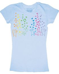 T-Shirt: Fruits Basket: Rainbow Hearts (Junior Size)