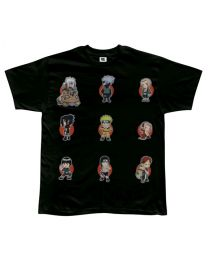 Naruto T-Shirt: Super Deformed Group