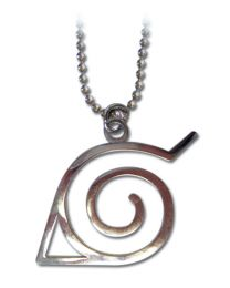 Naruto Necklace: Leaf Symbol