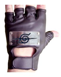 Naruto Anti-Leaf Village Leather Cosplay Gloves