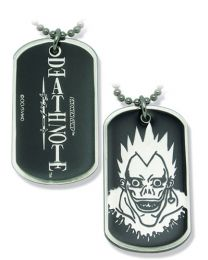 Death Note Necklace: Ryuk Dog Tag