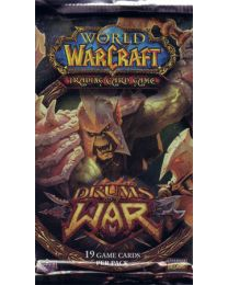 World of Warcraft: Trading Card Game Drums of War Booster Pack (Sets of 3 Packs)
