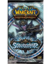 World of Warcraft: Trading Card Game Scourgewar Booster Pack (Sets of 3 Packs)